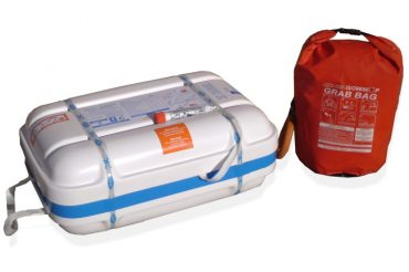 ISO 9650 Liferaft with Grab Bag