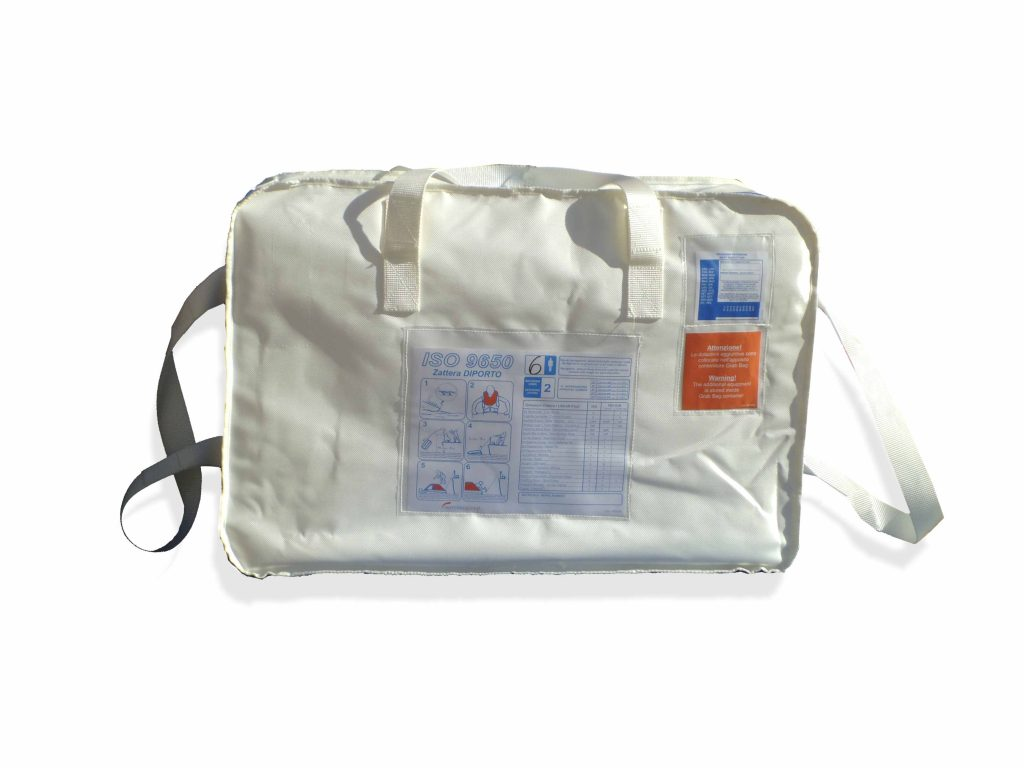 Zattera ISO9650 valigia