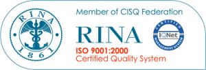 Certificazione ISO 9001-2000 RINA