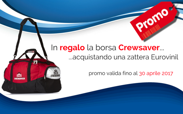 In regalo la borsa Crewsaver
